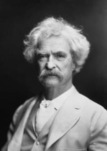 Mark Twain. (Photo: AF Bradley, Wikicommons)