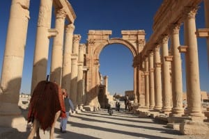 The Colonnade in Palmyra, Syria (Photo: nikidel / Shutterstock.com)
