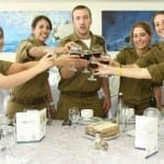 Israeli Defense Forces Celebrate Their Greatest Passover Seder Ever