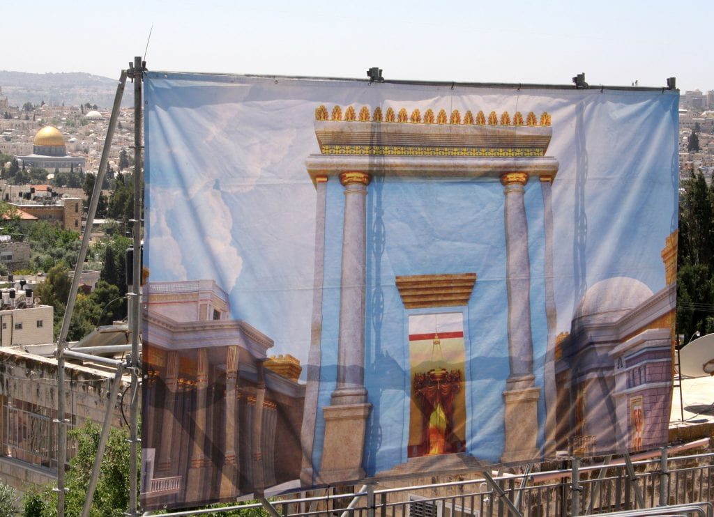 passover sacrifice makes comeback overlooking temple mount