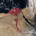 "Nile River ""Turns"" Blood-Red in Biblical Nature Phenomenon"