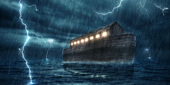 Image result for lightning in noah's flood