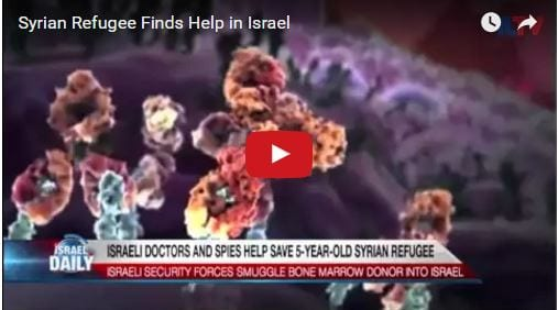 Israeli Spies Save Life of 5-Year-Old Syrian Girl