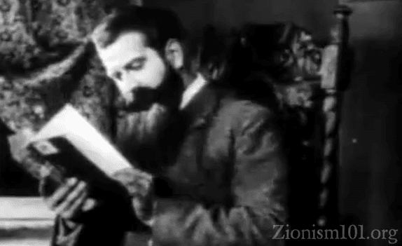 Theodore Herzl, known as the founder of modern Zionism (Photo: Zionism 101 video screenshot)