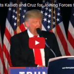 """Donald Trump Blasts Kasich, Cruz for """"Colluding"""" Against Him"""