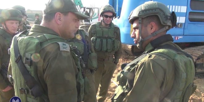 The IDF has uncovered a Hamas terror tunnel reaching into Israel. (Video Screenshot)
