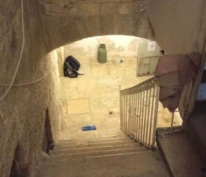 Interior of the new building in Jerusalem's Old City acquired by Ateret Cohanim (Photo: Courtesy/JNi Media)