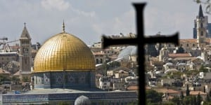 christian-arab-dome-of-the-rock-cross