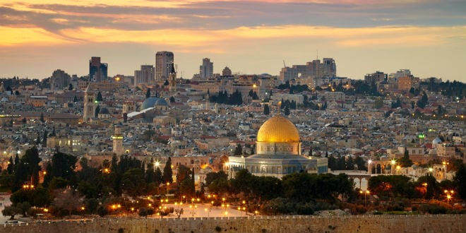 A panorama view of Jerusalem. (Shutterstock)