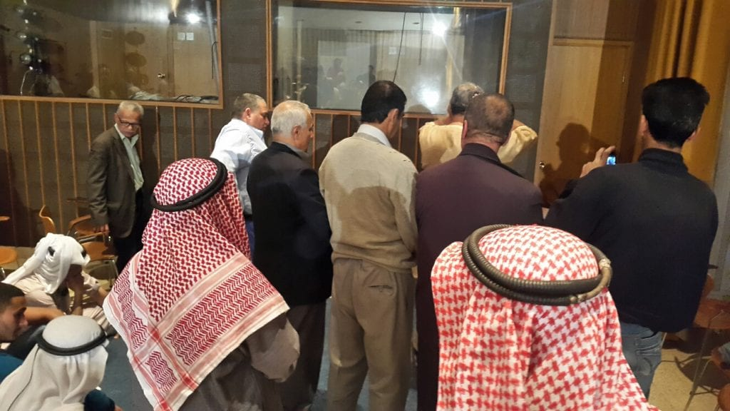 Muslims pray at a multifaith prayer in Jerusalem on May 9. (Courtesy Abrahamic Reunion)