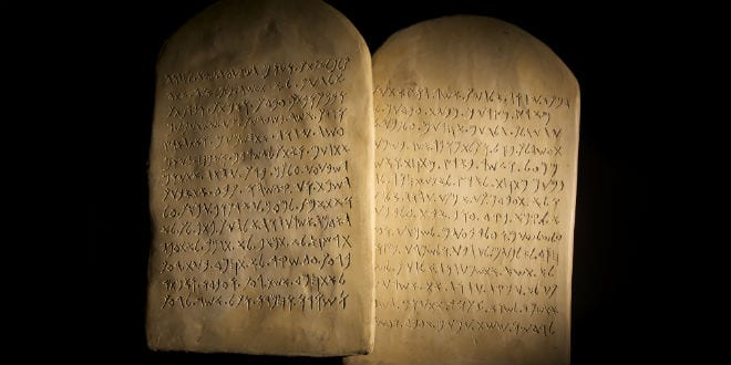 Oldest 10 Commandments Stone Tablet Ever Discovered Goes On Auction