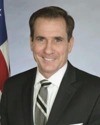 Rear Admiral John Kirby, Spokesperson for the U.S. Department of State as of 2015. (Photo: U.S. Department of State)
