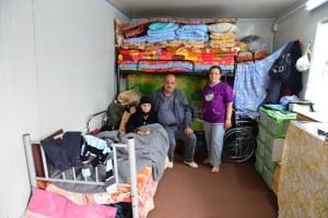 Displaced Christians in cramped living conditions in Erbil, the largest city in Iraqi Kurdistan. (Photo: Aid to the Church in Need/JNS)