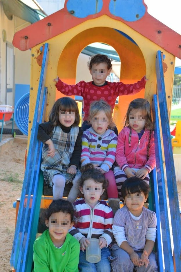 Children play at a Colel Chabad preschool. (Photo: Colel Chabad)