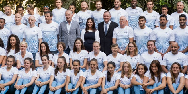 Israeli Delegations Meet With President Rivlin Ahead of Competing in Rio Olympics