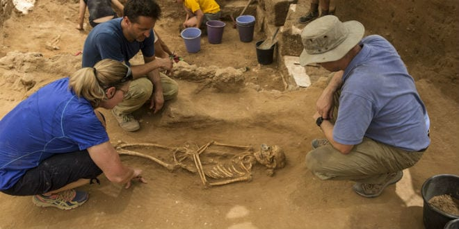 Newly Discovered Cemetery Suggests Philistines Migrated to Israel