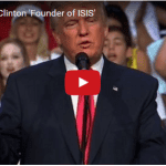 Trump Calls Clinton 'Founder of ISIS'