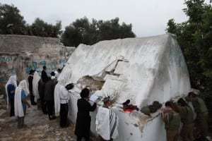 The Tomb of Elazar (Photo by Flash 90)