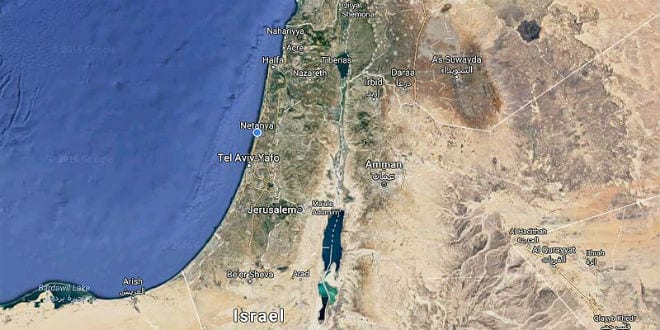 google earth map of israel google maps
