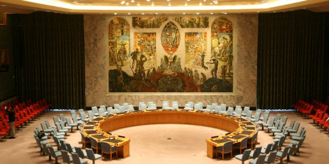 The United Nations Security Council. (Wikimedia Commons)