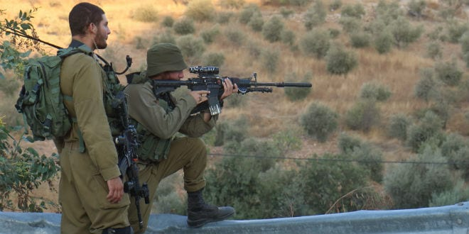 IDF Soldier Kills Own Stabber in Samaria Terror Attack