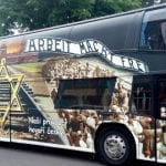 Outrage Over Czech Bus Advertising Auschwitz Vacation Tour