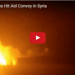Airstrikes Hit Aid Convoy in Syria After Ceasefire Fails