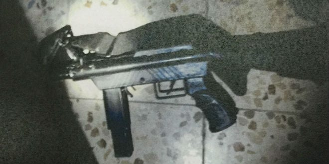 Shin Bet busts illegal arms manufacturers and dealers in the Hebron area and seize weaponry and ammunition. (Shin Bet Communications Department)