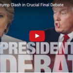 Clinton and Trump Clash in Crucial Final Debate