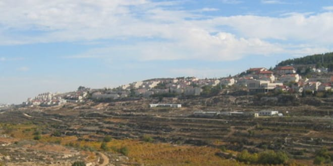 The city Efrat in Judea (Photo by Wikimedia)