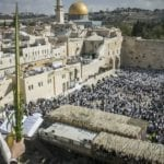 PHOTOS: 50,000 Receive Priestly Blessing at Kotel, Reaffirm Jewish Dedication to Jerusalem