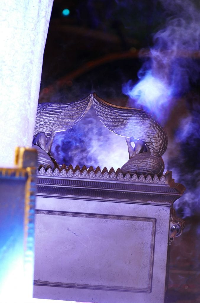 Incense burns on the altar. (Mordechai Persof/Midrasha L'ad Aamikdash)