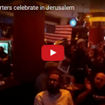 Trump Fans Celebrate in Jerusalem