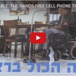 Israeli Start-Up Invents Hands-Free Smartphone for the Disabled