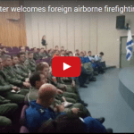 Cabinet Minister Welcomes Foreign Airborne Firefighting Aid