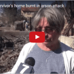 Holocaust Survivor Has Message of Hope After Losing House to Terror Arson