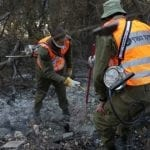 IDF Soldiers Called Up to Save Lives During Massive Fires