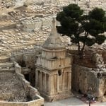 Arsonists Target Ancient Jewish Sites Absalom's Tomb and Cave of Jehoshaphat