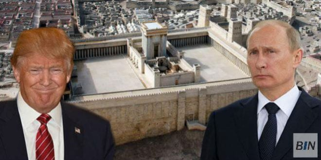 The Sanhedrin has requested that president-elect Donald Trump and Russian President Vladimir Putin work together to help rebuild the Temple. (Breaking Israel News)