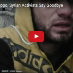 In Besieged Aleppo, Trapped Syrians Say Goodbye