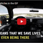 IDF's Self-Driving Vehicles Already on the Road