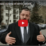 Berlin Rabbi Visits Israeli Victim of Truck Terror Attack