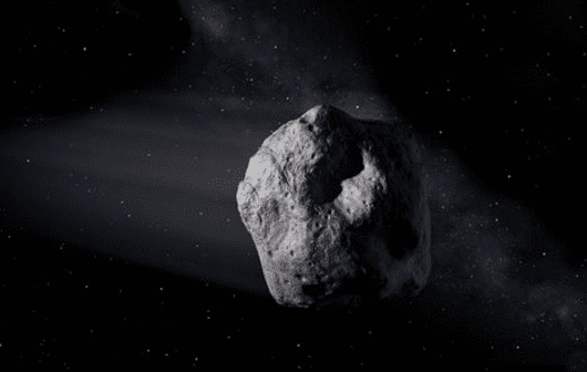 Artist's concept of a near-Earth object. (Image credit: NASA/JPL-Caltech)