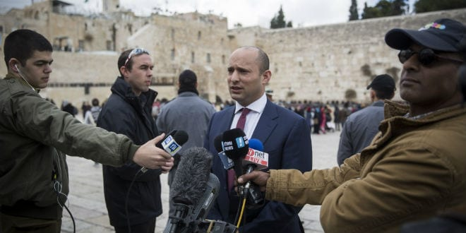 Israel's Defense Minister: We are Now in Era of Third Temple