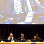 UN General Assembly Head Flaunts Bias By Wearing Palestinian Flag Scarf