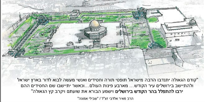 Will 2017 See a Synagogue on the Temple Mount? - Breaking Israel News