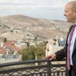 Bennett's Jewish Home Party Meets in Ma'ale Adumim, Calls for Annexation