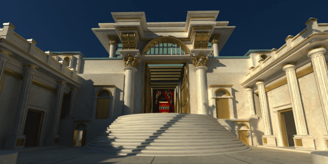 Holy Temple Appears on Temple Mount - See For Yourself on Google ...