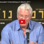 Richard Gere in Israel Talks Mid-East Conflict and New Film
