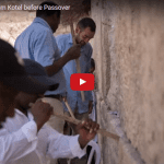 Notes to God Are Cleared From Kotel Before Passover